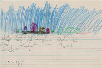 Kindergarten Writing Example 2